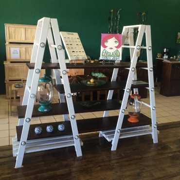 Ladder Shelving  Wall unit