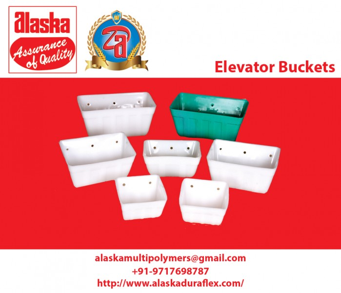 Elevator Buckets manufactures and suppliers in Greater Noida, India.